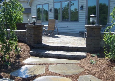 Natural Flagstone Path