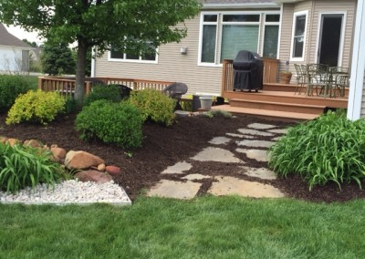 Mulch in Landscape Beds